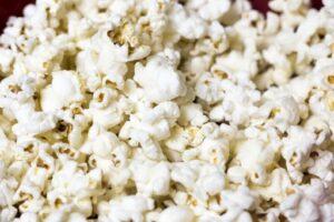 Popcorn und eine ketogene Ernaehrung